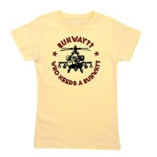 Runway Red Girl's Tee