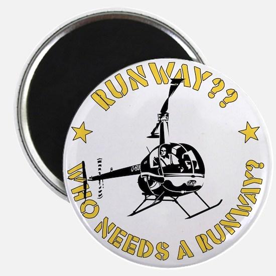 Robinson Runway Magnet