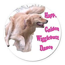 DanceMerge Round Car Magnet