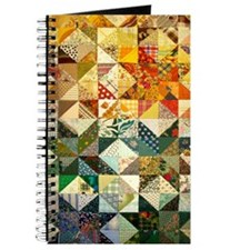 Fun Patchwork Quilt Journal