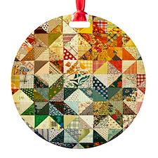 Fun Patchwork Quilt Ornament