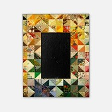Fun Patchwork Quilt Picture Frame