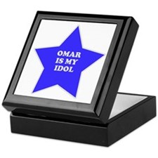 Omar Is My Idol Keepsake Box