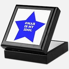 Omar Is My Idol Keepsake Box