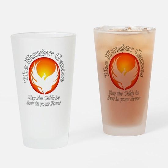 TheHungerGames001dark Drinking Glass