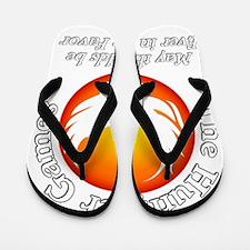TheHungerGames001dark Flip Flops