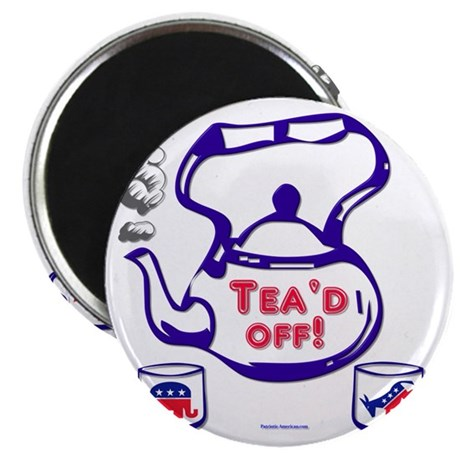 teaparty2 Magnet
