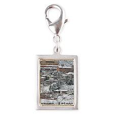 town_view_text copy Silver Portrait Charm