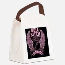 final logo pink Canvas Lunch Bag