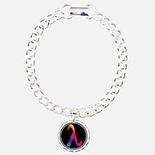 Lambda Badge Bracelet