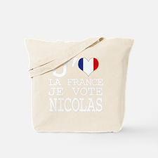 Votez Nicolas Tote Bag
