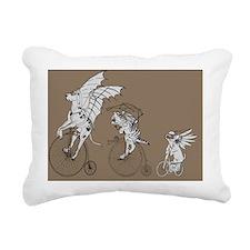 steampunk pets_laptop2 Rectangular Canvas Pillow