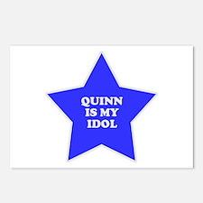 Quinn Is My Idol Postcards (Package of 8)