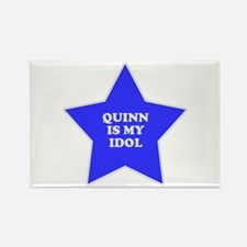 Quinn Is My Idol Rectangle Magnet