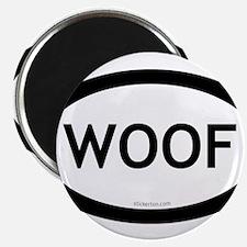 Woof Magnet