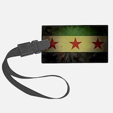 syriaflaggrunge Luggage Tag