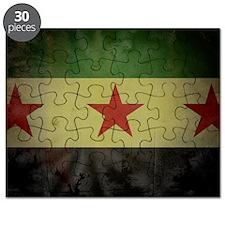 syriaflaggrunge Puzzle