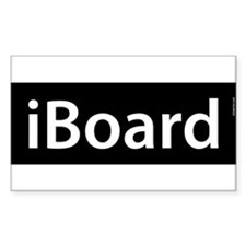 iBoard Rectangle Bumper Stickers