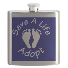 SaveALife_ButtonLarge Flask