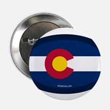 "Colorado State Flag 2.25"" Button (100 pack)"