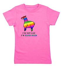 Gay Alpaca Girl's Tee