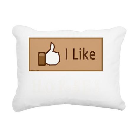 LikeHorsesLite Rectangular Canvas Pillow