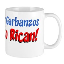 Bet Your Garbanzos Puerto Rican Mug