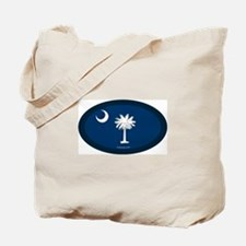 South Carolina Flag Tote Bag