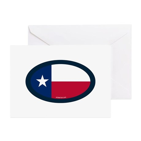 Texas State Flag Greeting Cards (Pk of 10)
