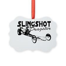slingshot dragster black Ornament