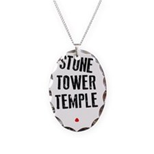 Stone Tower Temple Necklace