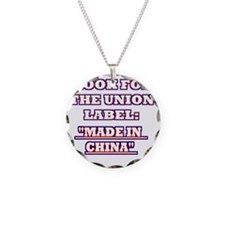 LOOK UNION LABEL Necklace