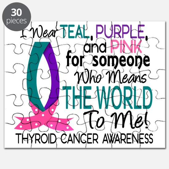 D Means The World To Me Thyroid Cancer Puzzle