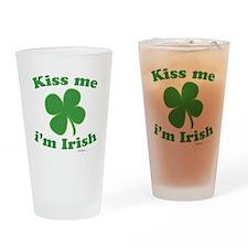 kiss me 2 Drinking Glass