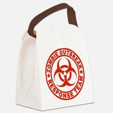 zombieOutbr1D Canvas Lunch Bag