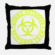 zombieOutbr1E Throw Pillow