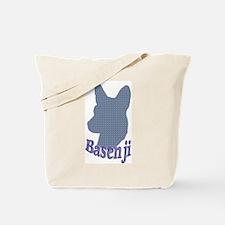 Artsy Basenji Tote Bag