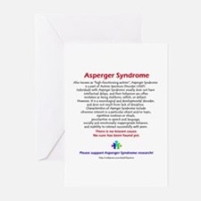 Asperger Facts Greeting Cards (Pk of 10)