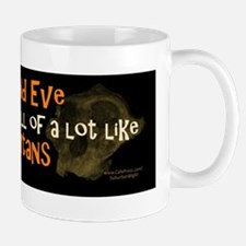 Adam and Eve Orangutans Mug