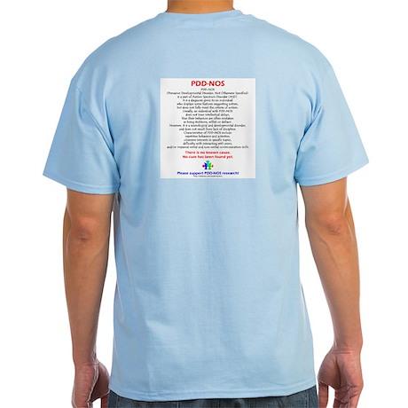 PDDNOS Facts (backprt) Light T-Shirt