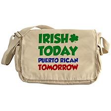 Irish Today Puerto Rican Messenger Bag