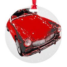 MG motorcar midget Ornament