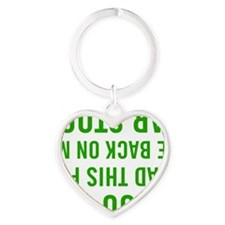 PA005WHT Heart Keychain