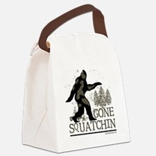 gonesquatchinRESIZED Canvas Lunch Bag