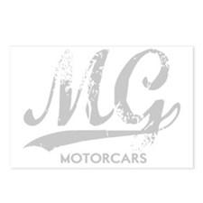 MG Motocars vintage scrip Postcards (Package of 8)