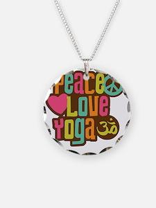 PeaceLoveYoga1 Necklace