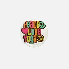 PeaceLoveYoga1 Mini Button