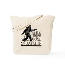 gonesquatchinRESIZED Tote Bag