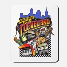 ClevelandFromGreetings1 Mousepad