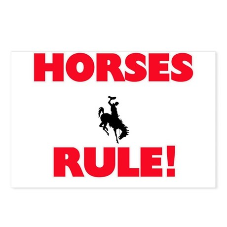 Horses Rule! Postcards (Package of 8)